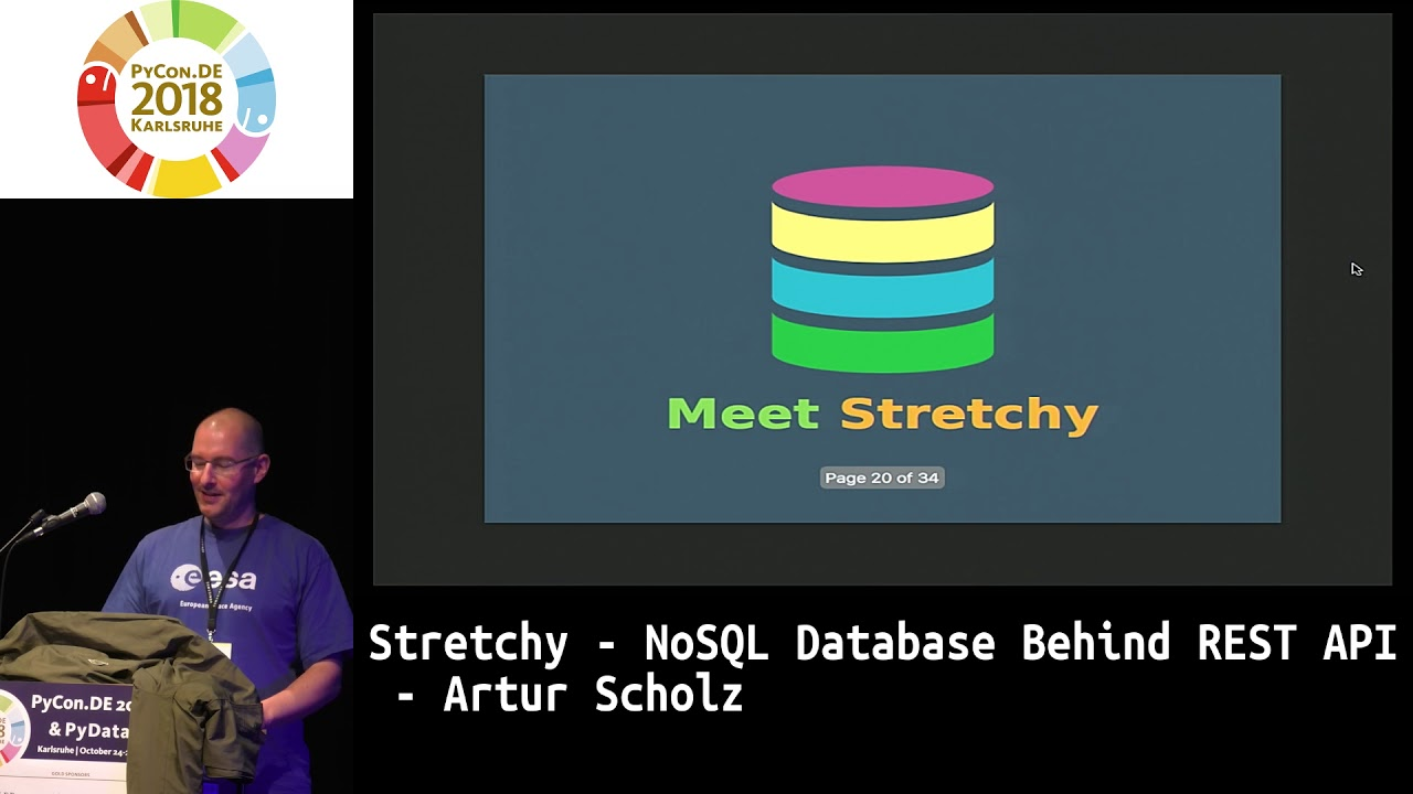 Image from Stretchy - NoSQL Database behind REST API