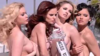 Repeat youtube video Miss USA Winners Pose Naked for New PETA Ad!