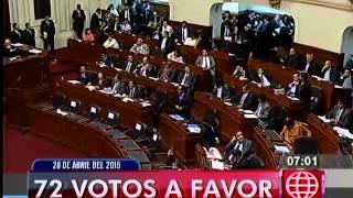 América Noticias: Primera Edición 28/04/2005