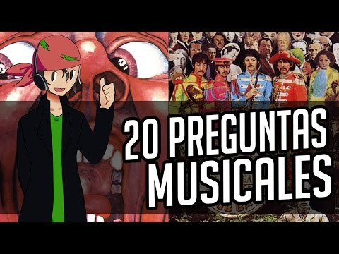 TAG 20 PREGUNTAS DE MÚSICA