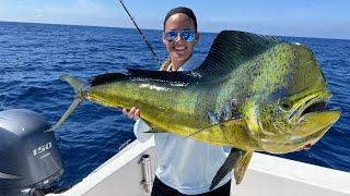 Deep Sea Fishing! {Catch Clean Cook} Mahi Piccata