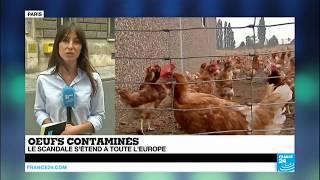 Œufs contaminés :