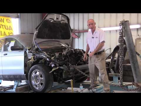 Frame Straighten and Align, Largo Body Shop, Auto Painters Plus