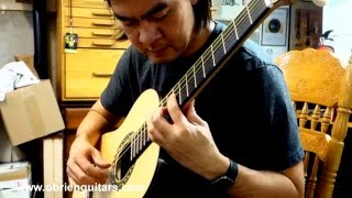 O'Brien Guitars student built guitar - Xuan Nguyen