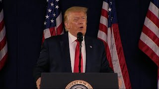 Trump Says Mount Rushmore Will Never Be Desecrated