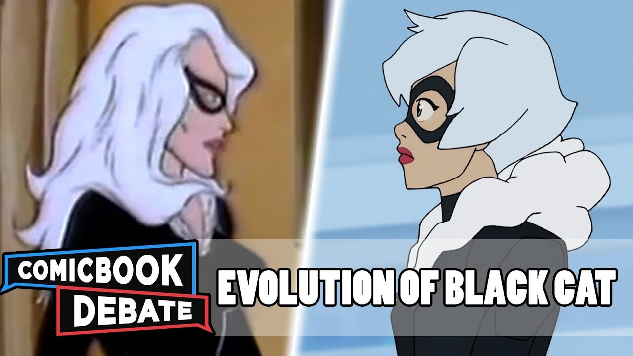 Evolution of Black Cat in Cartoons, Movies & TV in 4 Minutes (2018)
