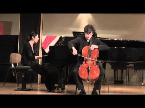 Payam Taghadossi, Elgar Cello Concerto (2nd mov.).mov