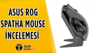 Asus ROG Spatha İncelemesi - MMO Oyuncularına Özel Fare