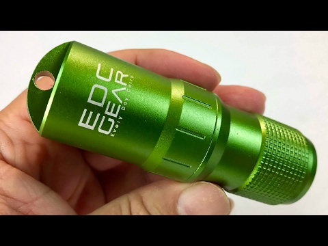 EDC Gear Balight Outdoor Survival Waterproof Pill Match Case Box Container w Emergency Supply Kit
