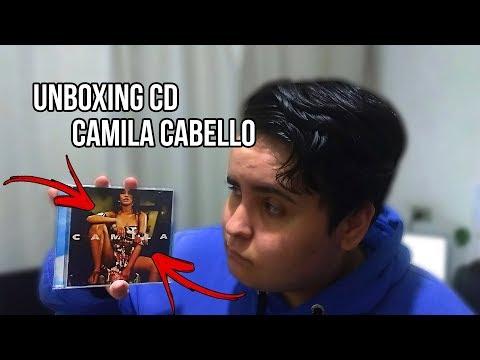 CD CAMILA - UNBOXING Do CD Da Camila Cabello