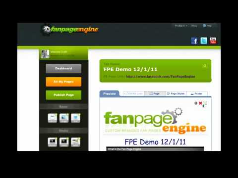 Replay of Live Webinar demonstrating Fan Page Engine
