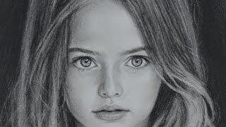 Kristina Pimenova - speed drawing portrait