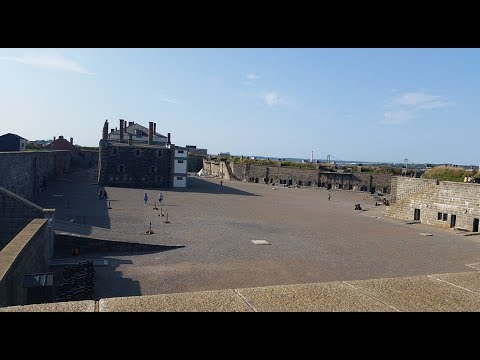 The halifax citadel  and the army museum tour 2017