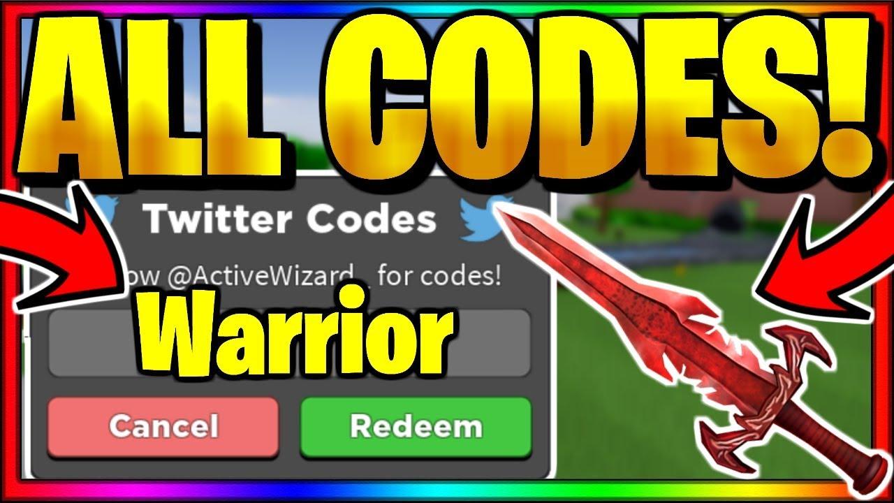 Warrior Simulator Codes July 2020 Mejoress