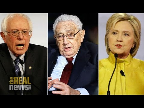 Democratic Debate: Sanders Attacks Clinton-Kissinger Vision for Perpetual War