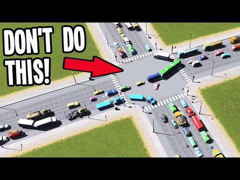 How to make Intersections AMAZING with these Simple Tips! - Cities Skylines Deep Dive