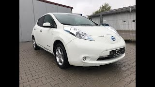Хорош ли дешёвый электромобиль Nissan Leaf  из под такси в Европе?