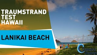 Hawaii USA Reise Tips: Lanikai Beach - schönster Strand der USA in Hawaii. Urlaub in Hawaii