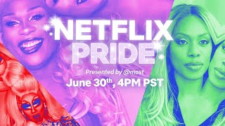 Full Replay: Netflix Pride 2020 Presented By @most