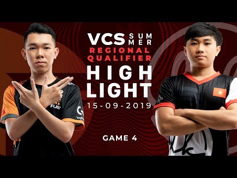 FL vs LK HighLights [VCS Mùa Hè 2019][Regional Qualifier][15.09.2019][Ván 4]