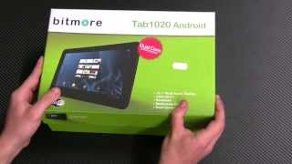 Bitmore Tab 1020 Unboxing And Review
