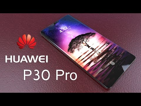 Huawei P30 Pro Introduction Concept Design,5 Camera Smartphone from Huawei is here !!