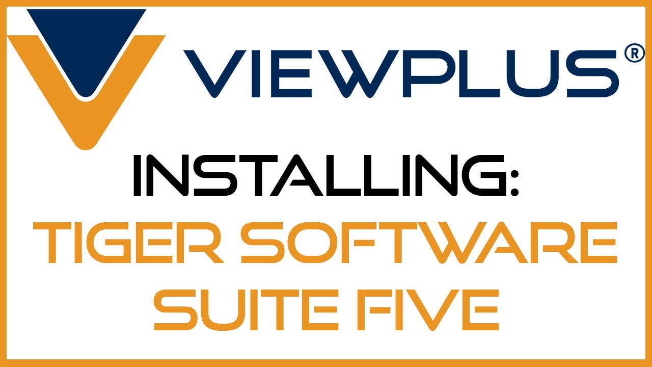Installing Tiger Software Suite Five