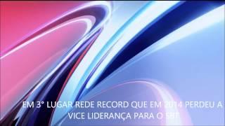 5 Maiores Emissoras Do Brasil [ 2015 ] [HD]