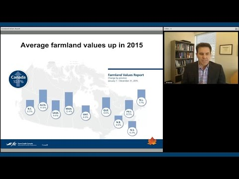 Webinar: 2015 FCC Farmland Values Report
