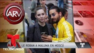 Investigan millonario robo a Maluma en Rusia | Al Rojo Vivo | Telemundo