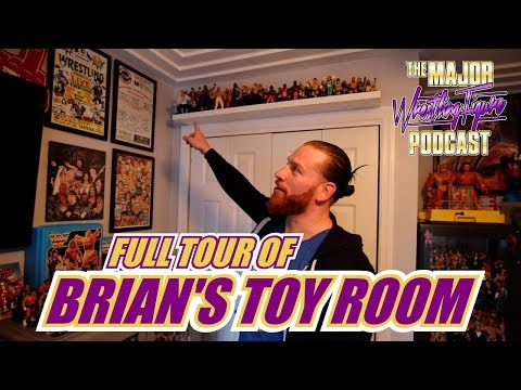 Full Tour Of Brian Myers' Toy Room