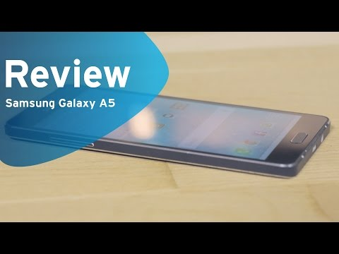 Samsung Galaxy A5 review (Dutch)