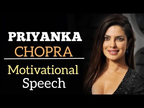 PRIYANKA CHOPRA Full Success Story Speech | Women Empowerment Motivational Video (English Subtitles)