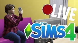 Zdecydowanie podryw to trudna sprawa - The Sims 4 LIVE #3 | MissKremowka