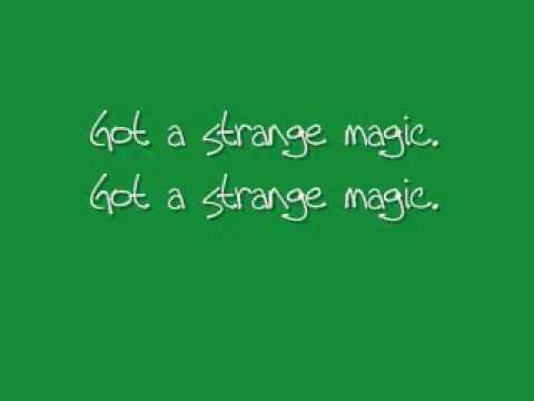ELO515  Strange Magic wlyrics