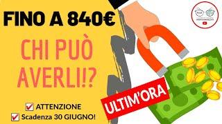 Come Avere Da 400€ A 840€ A Famiglia! Ecco Il Rem