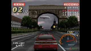 Rage Racer - Gameplay PSX / PS1 / PS One / HD 720P (Epsxe)