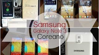 Samsung Galaxy Note 3 versión Coreana