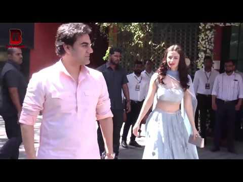 Arbaaz Khan Her New Girlfriend With Ex-Wife Maliaka Arora Arrives At Arpita Khan Visit Ganpati