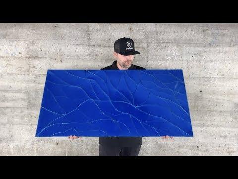 Make Epoxy Look Like Broken Glass | Epoxy Technique