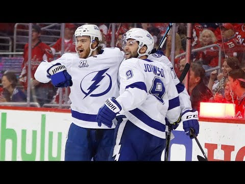 Point's goal and assist helps Lightning tie series