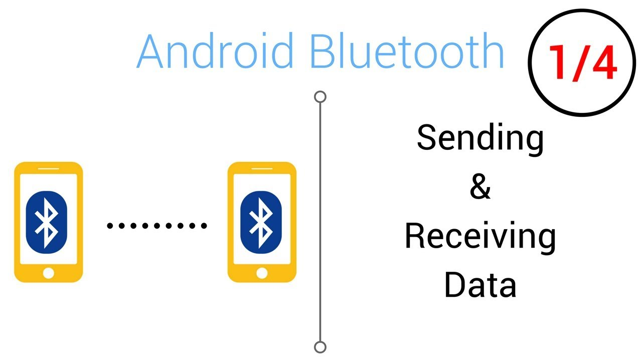 Bluetooth Tutorial - Sending/Receiving Data with Bluetooth (Part 1/4)
