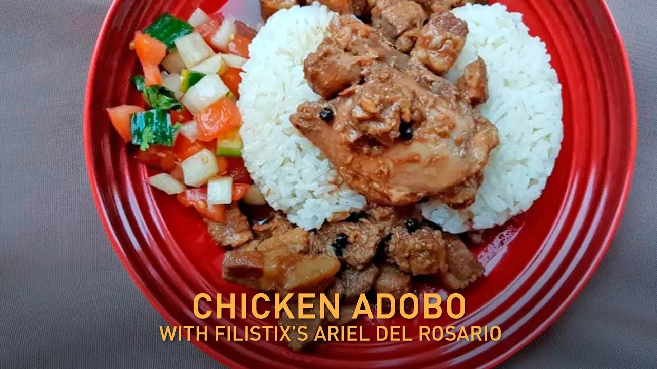How to make Instant Pot Filipino chicken and pork adobo | Fast Food