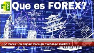 Le Forex  (Foreign exchange market)