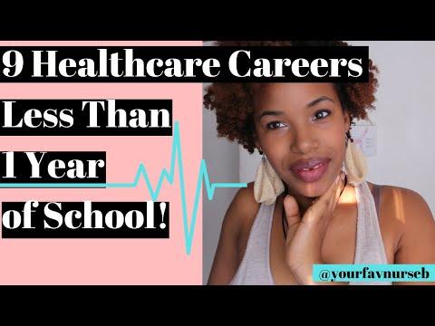 Healthcare Careers with Minimal Schooling Make Money Fast YourFavNurseB
