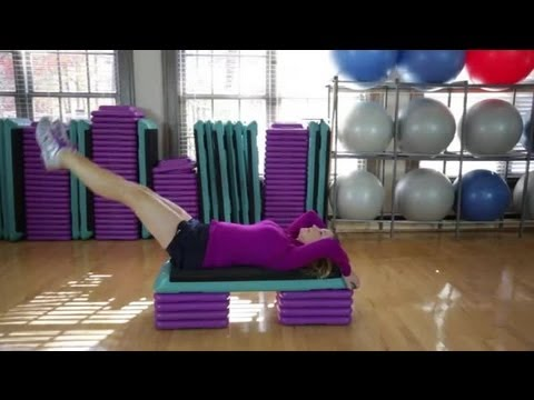Leg Raise Exercises to Lose Belly Fat : Fitness Training