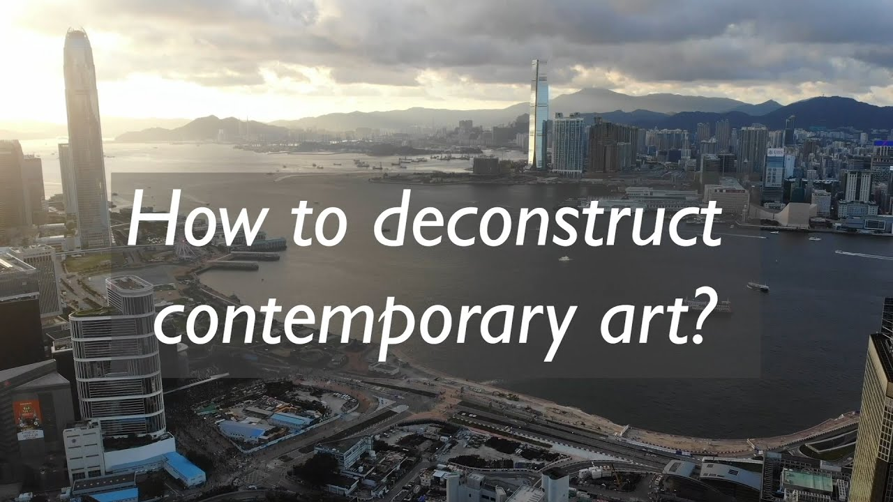 Boosting creativity -  How to deconstruct contemporary art?