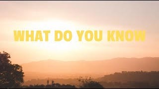 The Paperback Writers: What Do You Know (OFFICIAL AUDIO)