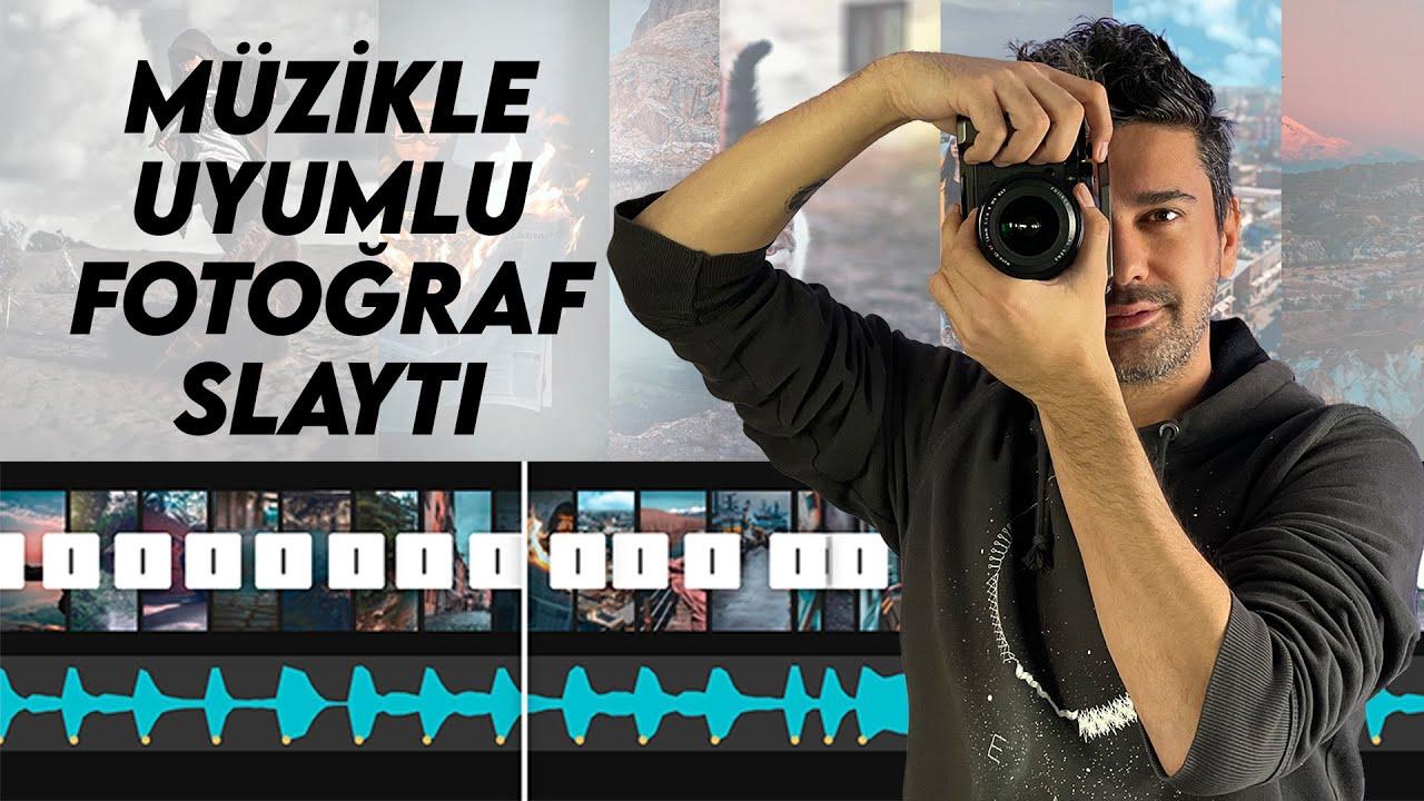 Müzikle Uyumlu Fotoğraf Slaytı Nasıl Yapılır ?   CapCut Video Edit