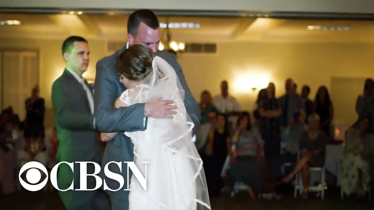 Brides 5 Brothers Fill In For Late Father During Wedding Youtube